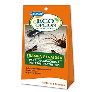 Trampa Insectos Rastreros
