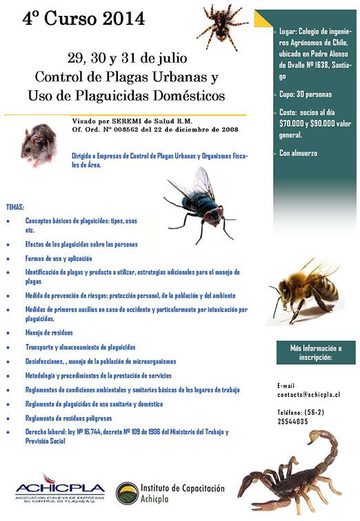 control de plagas urbanas y uso de plaguicidas dom sticos