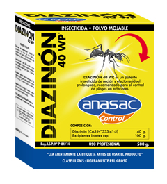 Insecticida Diazinon 40 WP